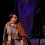Newman stands in for Laren in the UVU production of Princess Academy, which he adapted from Shannon Hale's novel.